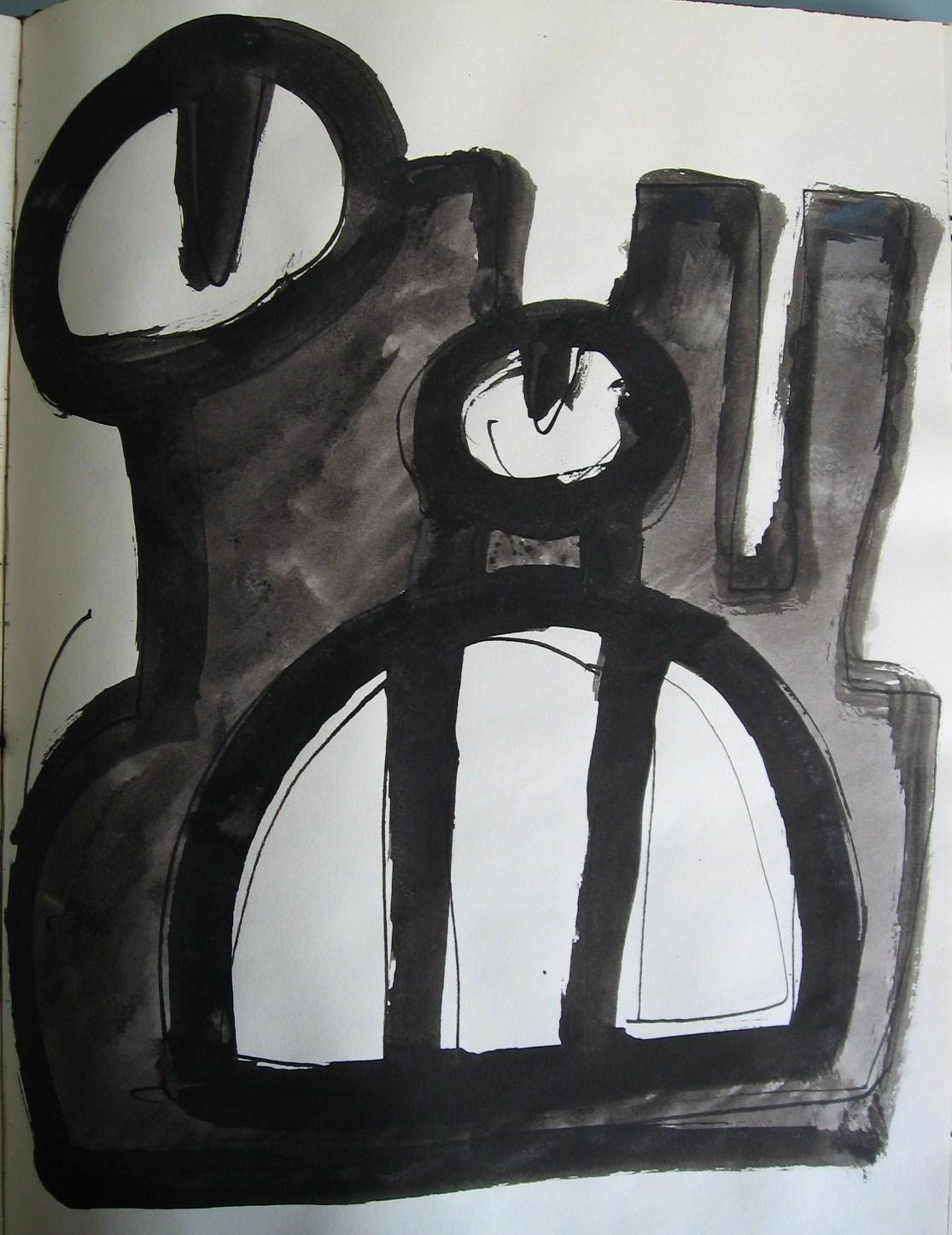 Röhrenkopf 2 – Skizze