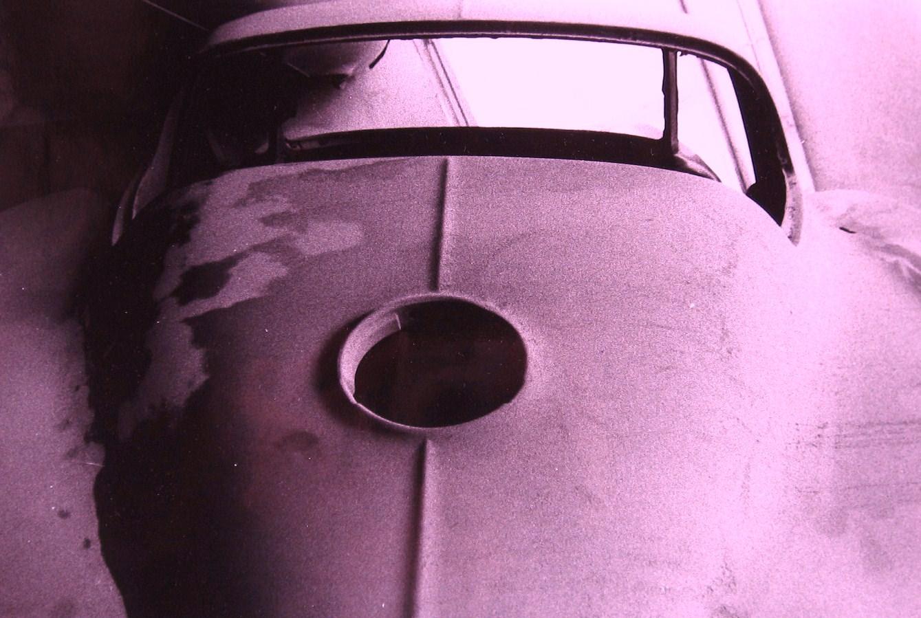 Red Corvette 1965