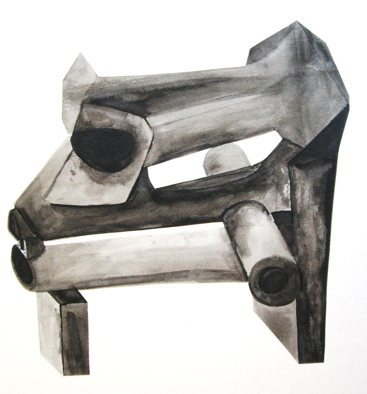 Röhrenkopf 1 – Skizze